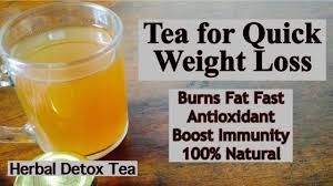 herbal detox tea for weight loss how