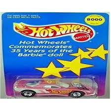 Hot Wheels Commemorates 35 Years Of The Barbie Doll With This Limited Edition Second Issue 1993 Chevrolet Camaro Car 13250