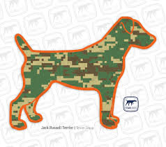 Jack Russell Terrier Decal Two Styles Fowl Dog