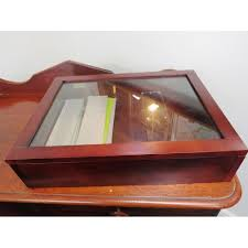 small table top display cabinet with