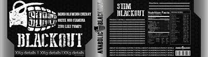 label for anabolic blackout