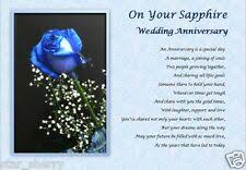 sapphire anniversary gifts s for