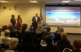 """City of Henderson on Twitter: """"Mayor @debra_march, So. Nevada Water  Authority @SNWA_H2O GM John Entsminger & City of Henderson Dept. of Utility  Services Director Priscilla Howell answer questions about water at Wednesday"""