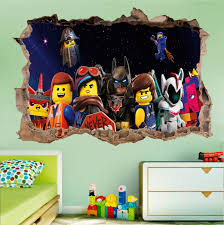 Lego Movie Wall Ninjago Decal Uk Fathead Batman Art Cityscape Logo Vinyl Canada With Name Vamosrayos