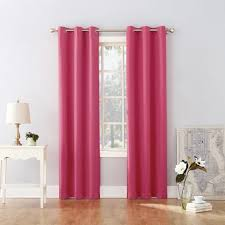 95 X40 Riley Kids Bedroom Blackout Grommet Curtain Panel Pink Sun Zero Target
