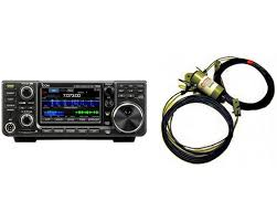 icom ic 7300 and radiowavz dx80 bundle