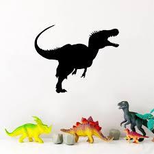 Velociraptor Dinosaur Wall Art Decals Kids Room Decor Raptor Dinosaur Vinyl Art Sticker For Car Loptop Phone Decoration Wall Stickers Aliexpress