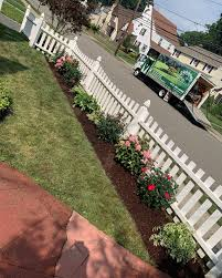 Removed The Grass Along This Fence Line K Macken Landscaping Llc Facebook