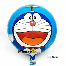 Globos De Cumpleanos Para Ninos Doraemon 1 Er Cumpleanos Fiesta