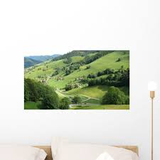 Valley Black Forest Wall Decal Wallmonkeys Com