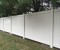 Vinyl Pvc Fence Installation In Lakewood New Jersey
