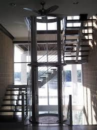 visilift round house elevation glass