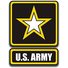 Amazon Com Cmi Ni881 Us Army Logo Decal Sticker 5 5 Inches By 4 Inches Premium Quality Vinyl Decal Automotive