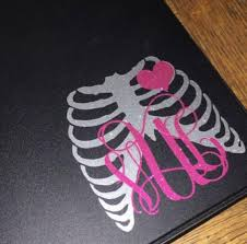 Radiology Monogram Decal Radiologist Decal X Ray Tech Etsy Monogram Decal Notebook Decal Car Monogram Decal