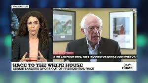 Bernie Sanders drop out ...