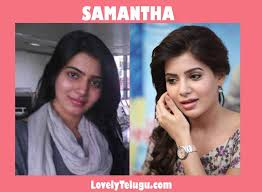 without makeup telugu actress photos