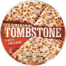 original clic sausage frozen pizza