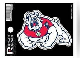Fresno State Bulldogs 3 Flat Sport Die Cut Decal Bumper Sticker University Of 767345215468 Ebay