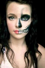 25 half face makeup ideas for