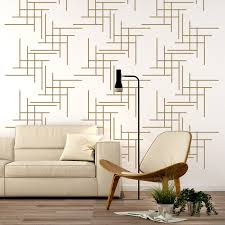 Geometric Line Wall Decal Wall Star Graphics