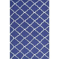 Lattice Navy Kids Area Rug Rug Shop And More
