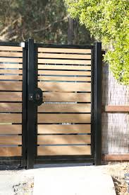 Metal And Wood Gate Houzz