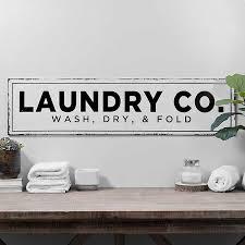 Laundry Co Metal Wall Plaque Kirklands