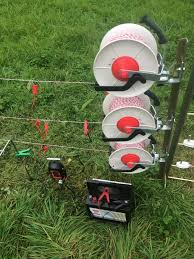 Electric Fence Three Reels And Fixing Post Electric Fence