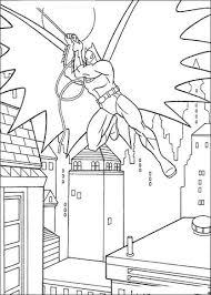 Batman In Actie Kleurplaat Gratis Kleurplaten Printen