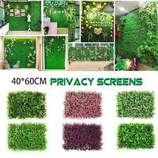0 5 1m 0 25 0 5m Artificial Ivy Leaf Privacy Fence Screen Decor Panels Outdoor Hedge Faux Leaves Green Or Deep Green Buy At A Low Prices On Joom E Commerce Platform