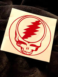 Steal Your Face Stealie Car Decal Vinyl Sticker Etsy