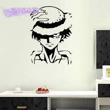 One Piece Wall Decal Vinyl Wall Stickers Decal Decor Home Decorative Decoration Anime One Piece Luffy Car Sticker Decorative Home Decor Home Decorvinyl Decal Aliexpress