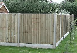 Heavy Duty Wooden Fence Panels 6 X 3 Tantalised Pressure Treated Feather Edge 30 00 Picclick Uk