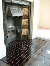 fireplace hearth tiling would it look