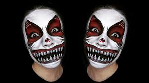 scary clown makeup tutorial you