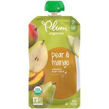pear mango organic baby food