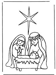Geboorte Van Jezus 1 Bijbelkleurplaten Kerst