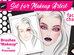 makeup artists by procreate brushes
