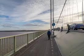 Humber Bridge walk - East Yorkshire walks - Hull walks