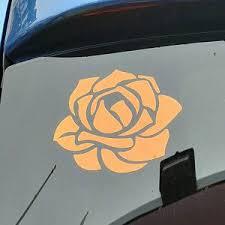 Flower Car Decal Vinyl Car Decal Rose Car Decal Car Vinyl Etsy Car Decals Vinyl Car Decals Flower Car