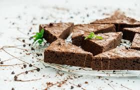 healthy 4 ings protein brownies