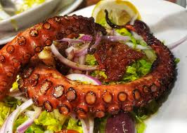 Grilled Octopus (xταπόδι-σχάρας ...