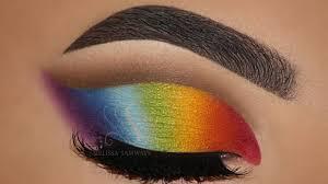 rainbow makeup tutorial melissa