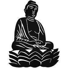 Buddha Symbolic Decal Buddha Vinyl Decal Stickers Vinyl Decals