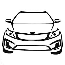 Kia Rio Auto Mafia Decal Sticker