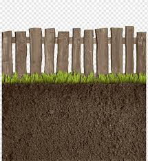 Brown Wooden Fence Soil Fence Fence Grassland Soil Grass Fencing Material Png Pngwing