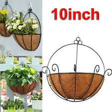 Flower Plant Indoor Outdoor Garden Wall Fence Hanging Planter Box Baskets Shopee Philippines