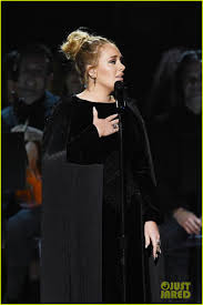 Adele Stops George Michael Grammys Tribute, Asks to Start Again (Video):  Photo 3858490 | 2017 Grammys, Adele, George Michael, Grammys Pictures |  Just Jared