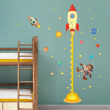 Outer Space Monkey Pilot Rocket Wall Decals The Decal House