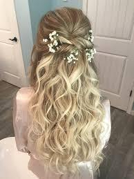 46 Trendy Wedding Hairstyles Half Up Half Down Makeup Hair Style